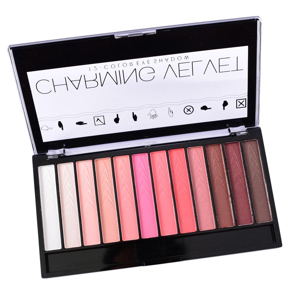LCHEAR 592064 En Gros cosmétiques Imperméable À L'eau 12 Couleur Mat Maquillage Ombre À Paupières Palette
