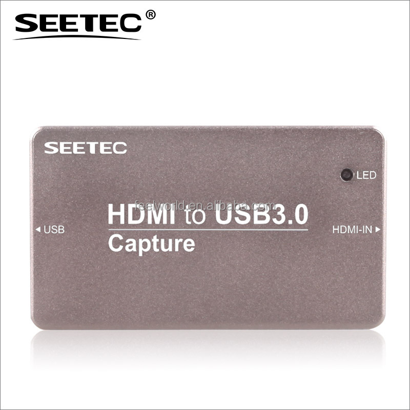 SEETEC USB 3.0 Video Capture Box for video streaming HTU3.0