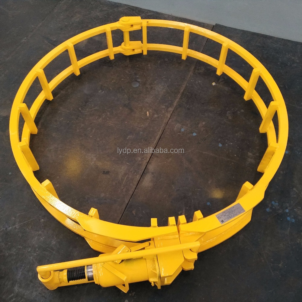 Customized Carbon Steel Hydraulic External Line up Clamp