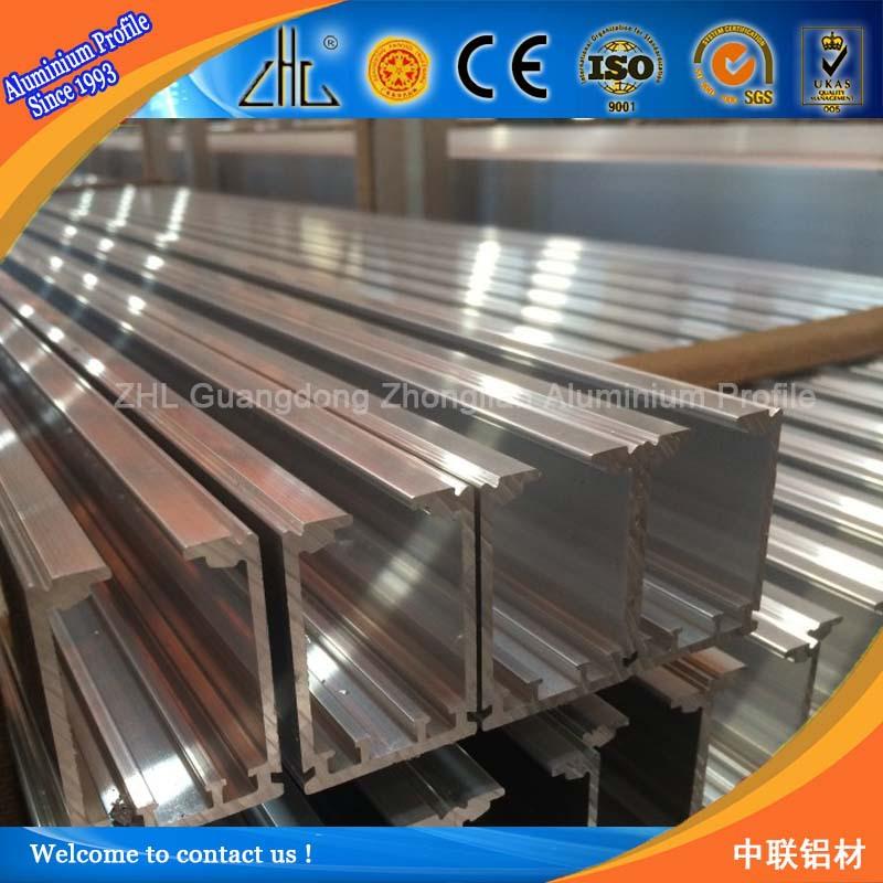 6063 T5 Aluminum U Channel Railing / Glass Railing U Profile /anodized  Aluminum C Channel Sizes Customized - Buy Aluminum C Channel Sizes,Glass