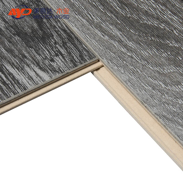 V groove mirror surface laminate flooring