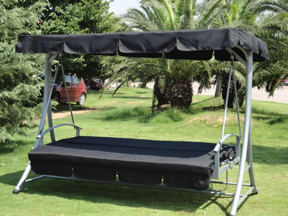 Great Garden Hammock Swing Bed With Canopy (qf 6311b)   Buy Outdoor Canopy Swing  Bed,Hammock Swing Bed,Swing Bed With Metal Frame Product On Alibaba.com
