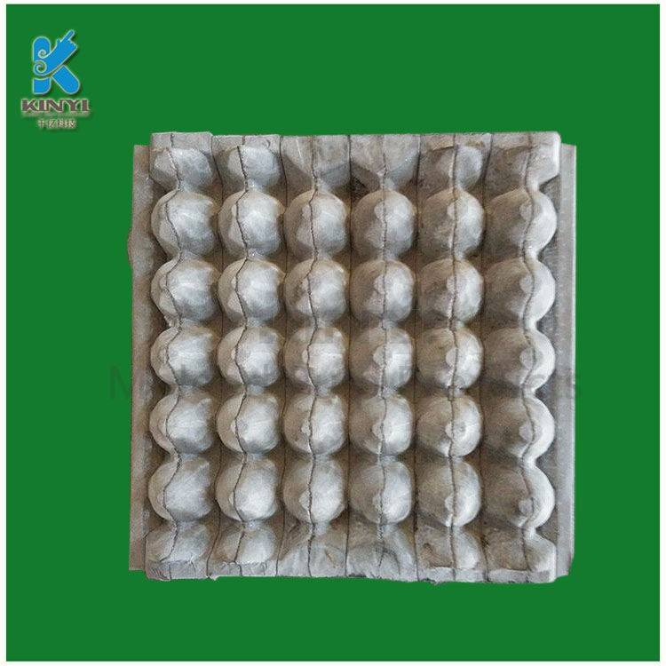 Custom kraft paper pulp molded egg tray buy pulp molded for How to make paper egg trays
