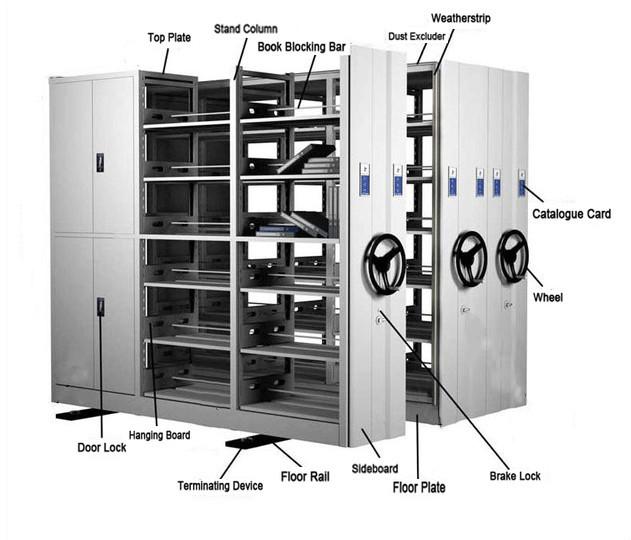 Library cheap metal shelf book file storage racks mass for Cheap book storage
