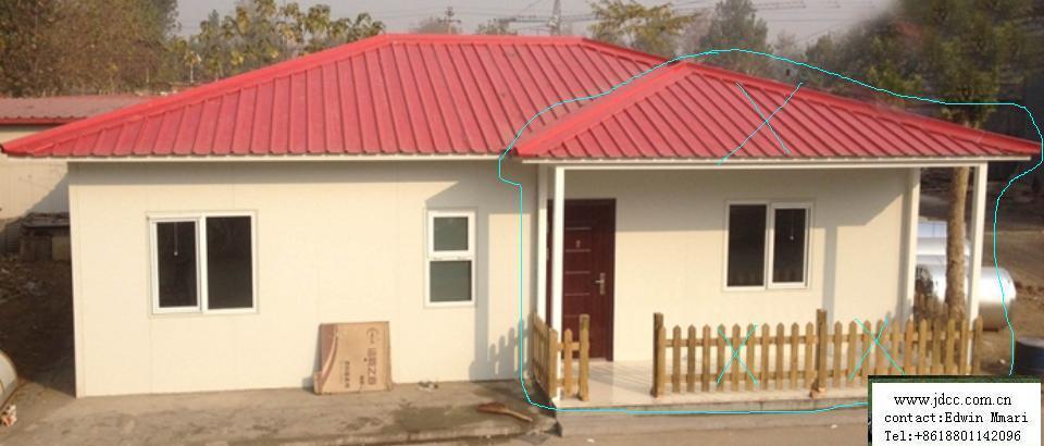 De acero de bajo costo prefabricadas casas de hormig n de - Precios de casas prefabricadas ...