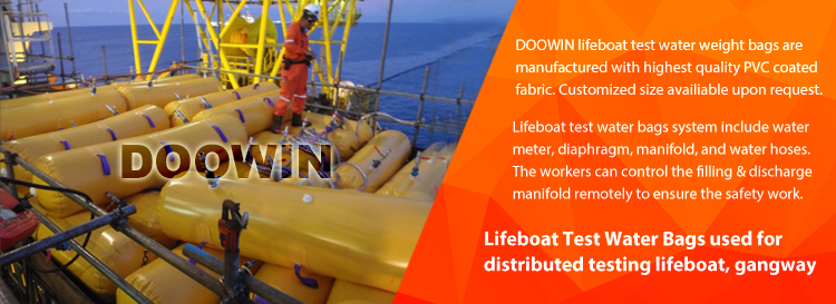 Lifeboat Water Load Testing Weight Bags