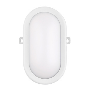 V1123001 good quality outdoor corridor balcony oval plastic bulkhead cover lamp light fitting,ip44 lamp led bulkhead light