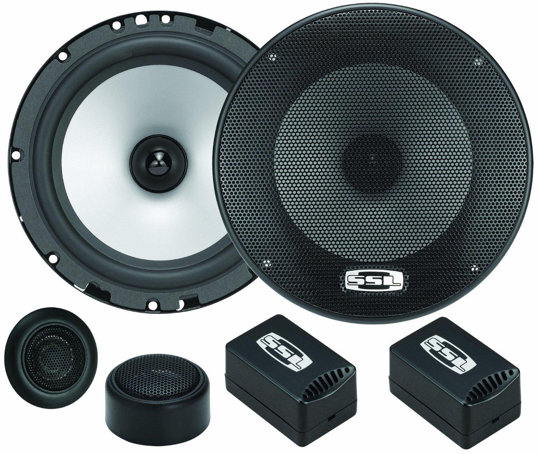 SOUND STORM GS65C GS 65 2 Way 350 Watt Component Speakers