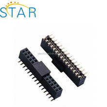30 pin smt female header connector double row 1.25mm pitch