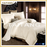 2017 new design 100% egyptian cotton flower organic bedding set for hotel