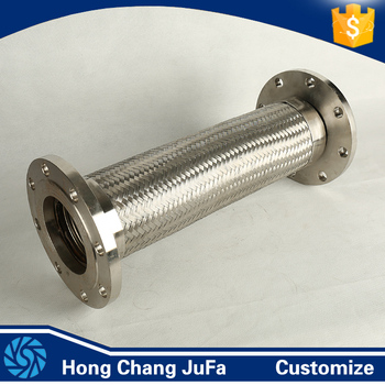Large diameter flange pn16 flexible metal conduit corrugated ss braided hose : ss braided flexible hose - www.happyfamilyinstitute.com