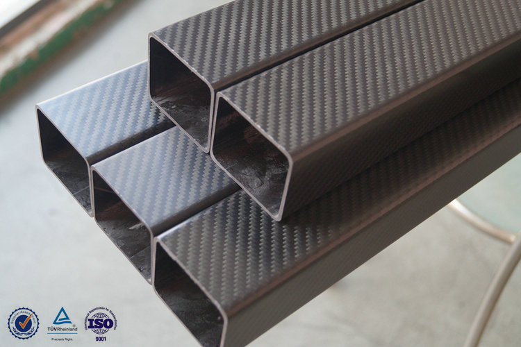 High Modulus 3k Carbon Fiber Tube Roll Wrapping Carbon