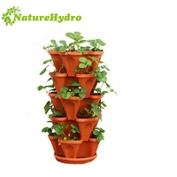 hydroponic growing systems Home decor garden indoor plant pot with stand