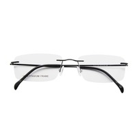 High Quality New Design Titanium optical Eyewear Frame Men Prescription Glasses For Sale