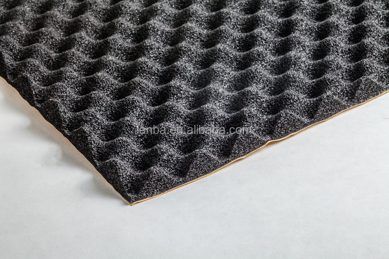Hot selling reduce noise rubber foam car damping material