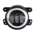 "Projector 30W LED 4"" Fog Light/Lamp White Angel Eye 4 Inch Car Round Turning Lamp For Jeeps Wrangler JK 07-Up"