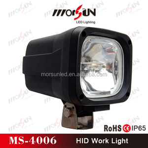 Heavy-duty HID driving light, offroad 12V spot light 24V xenon hid light