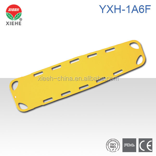 YXH-1A6F Spine Board Dimensions
