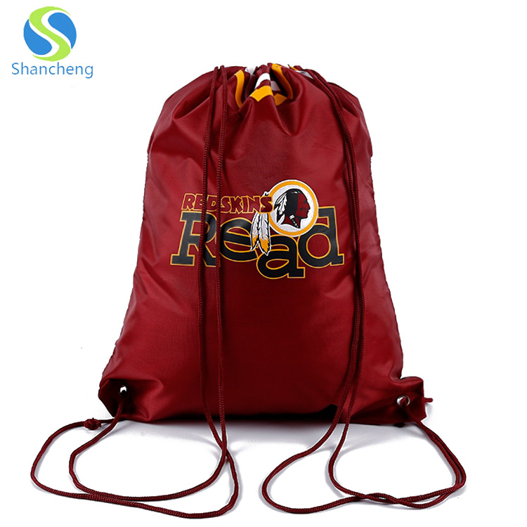 100 Personalized Polyester Clear View Drawstring Backpack Printed w// Logo Text