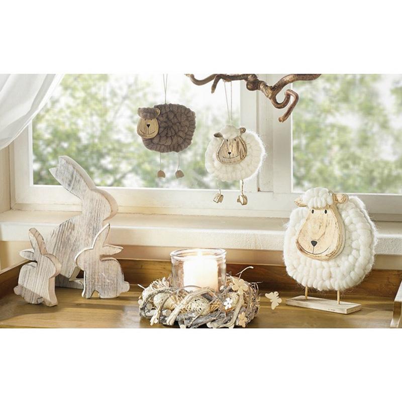 Free Shipping,2 Pcs,Home Decoration Small Sheep Home