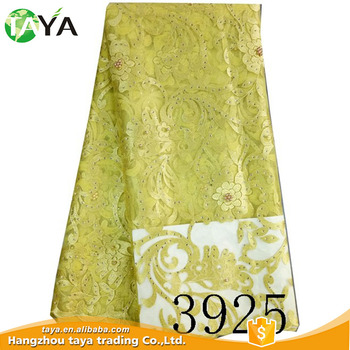 Durable Aso Ebi Dress High Quality Cheap Embroidery Lace Fabric