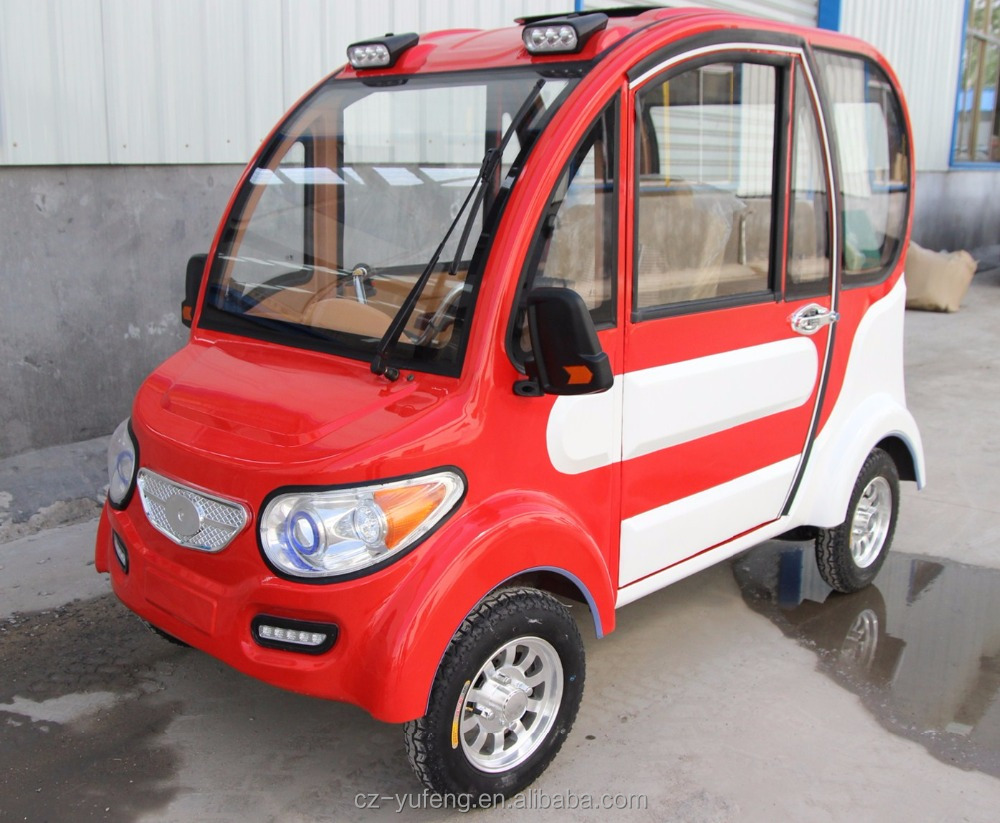 2017 Yufeng newest Jingbao electrical red and white four wheel vehicle