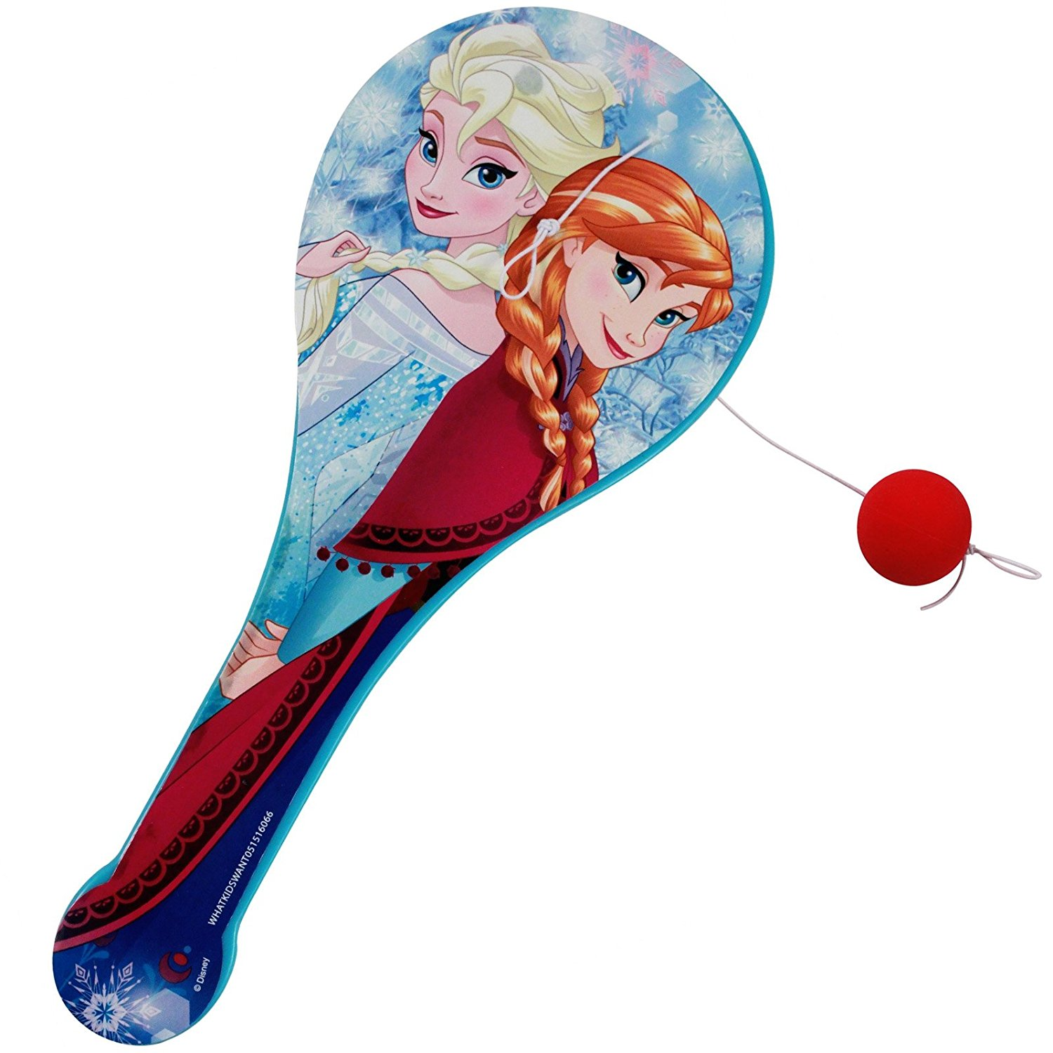 Disney Officially Licensed Frozen Paddle Ball Girls Toy