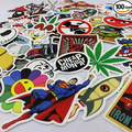 20Pcs No Repeat DIY Stickers For Skateboard Laptop Luggage Snowboard Phone Toy Styling Home Decor Stickers