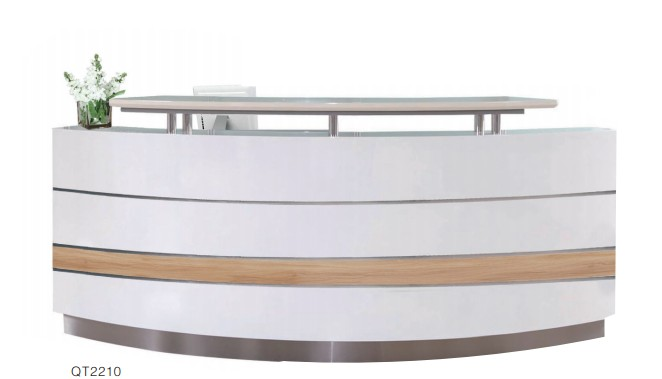 Cheap Reception Counter Design/office Reception Table/white Reception Desk
