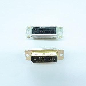 single level dvi connector male 18+1 welded wire