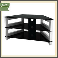 Luxury iron pipe tv stand