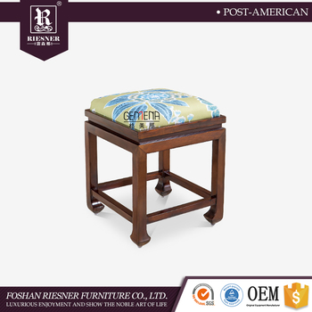 Wood Children Fabric Stool Fashion Wooden Sofa Step Stool Softener Bedroom furniture