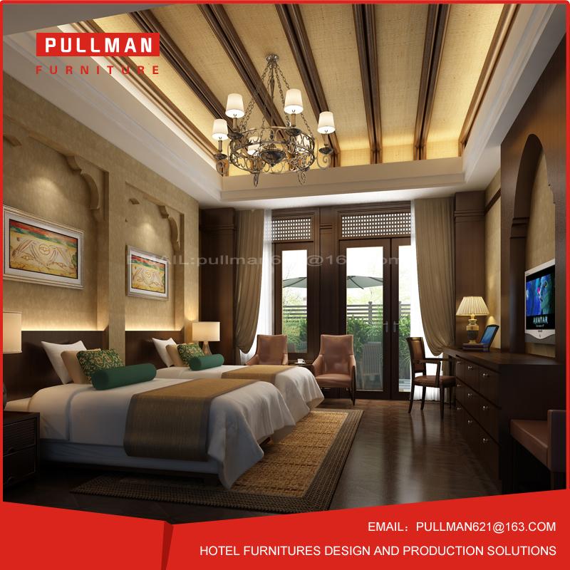 Luxe classique mobilier de chambre hôtel meubles pour