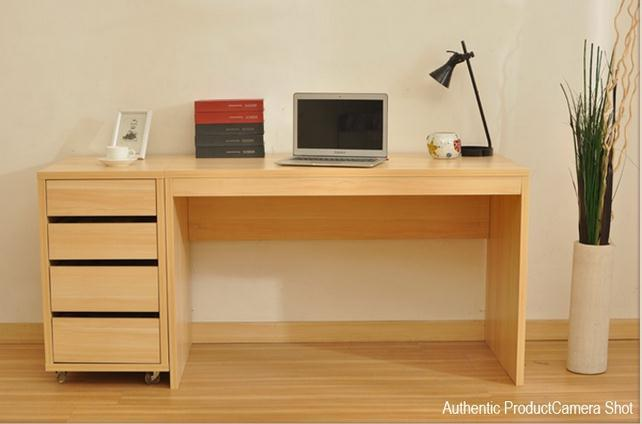 Wooden study table designs for adults for Simple table design