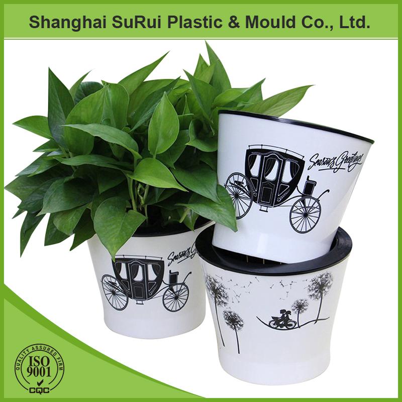 vente chaude en plastique pot de fleur avec peinture conception pots fleurs jardini res id. Black Bedroom Furniture Sets. Home Design Ideas