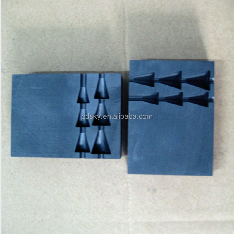 High quality graphite jewelry casting mold