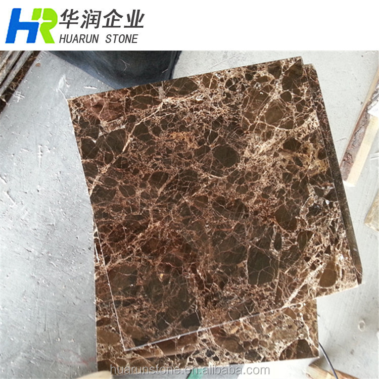 Dark Brown Marble Flooring Tiles, Marron Emperador, Dark Emperador Marble Composite Tiles