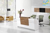 2016 Modern style popular high popular wooden/MFC board table reception desk office furniture