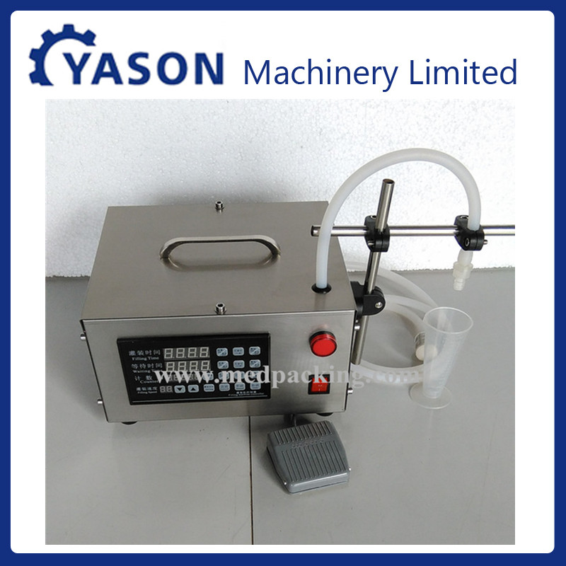 5 L/min high precision gear pump liquid quantitative filling machine,low viscosity liquid filling machine