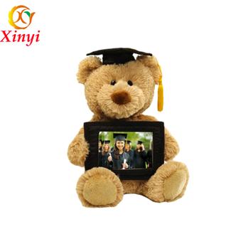 12037df7b6b 2016 Hot Sale The Graduation Teddy Bear With Glasses - Buy ...