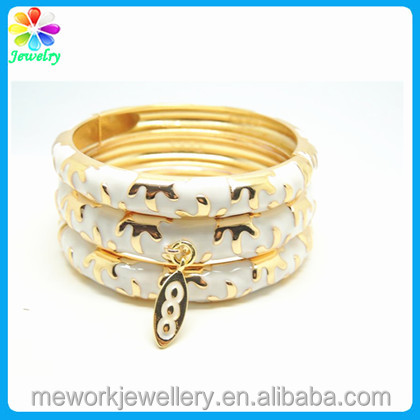 ebza bangles bracelet il bracelets set fill of thick listing bangle gold yellow