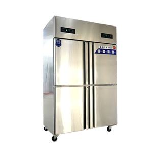 Indian Four Door Commercial Home Use Restaurant Refrigerator Kitchen Equipment