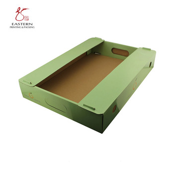 Custom Fruit Corrugated BoxGreen Paper Storage boxFoldable Collapsible box  sc 1 st  ???? - Alibaba & Custom Fruit Corrugated BoxGreen Paper Storage BoxFoldable ...
