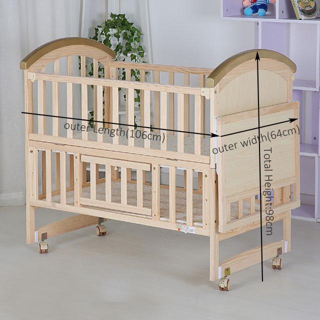 Das Schlafzimmer Umweltfreundliche Europa Französisch Single Babybett /  Babybett / Flexible Babybett - Buy Babybett Bett,Flexible Kinderbett,Europa  ...