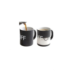 Customize 11oz Sublimation Black Color Change Mug Magic Coffee Mugs