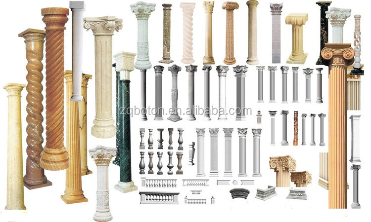Wonderful Architecture Stone Project Pillar Decorative Column Moulds