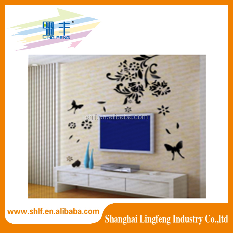 cheaper price 3d removable wall decal sticker