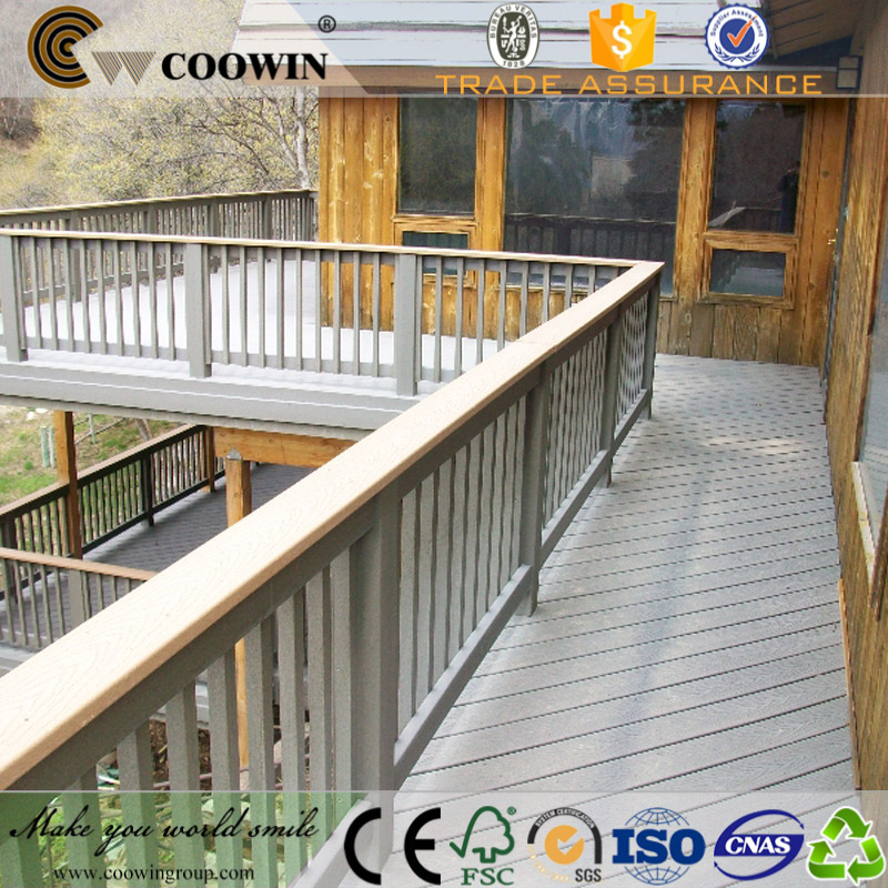 Round hole embossed coowin decking good price high quality