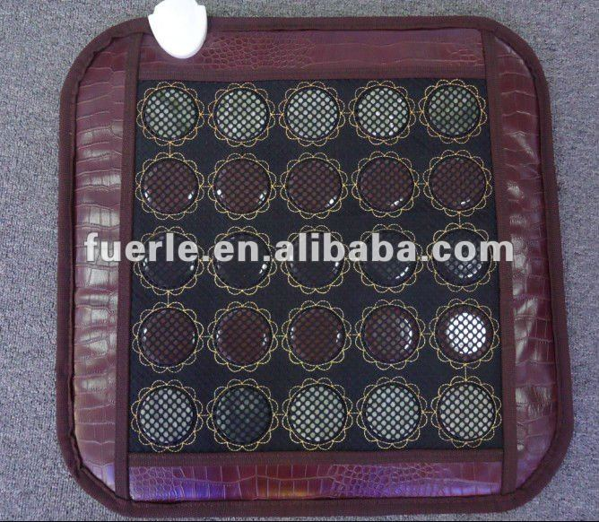heating jade stone relaxing infrared heated seat cushion