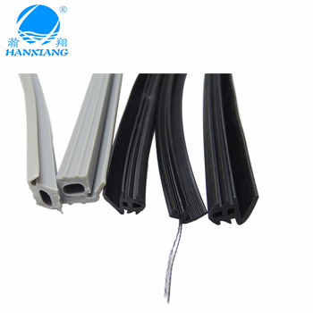 Extruded rubber seal strips for ice cooler basket